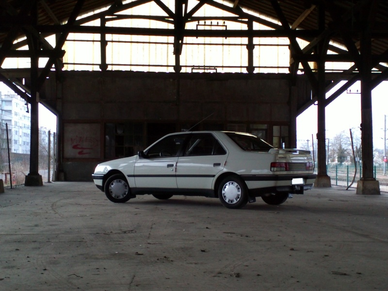 [GL + Husky-28] Peugeot 405 GL et Husky et autre discussion Img22911