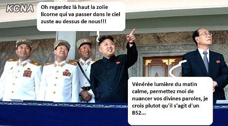 """Pyongyang menace d'une frappe nucléaire """"préventive"""" - Page 3 Kim_jo11"""
