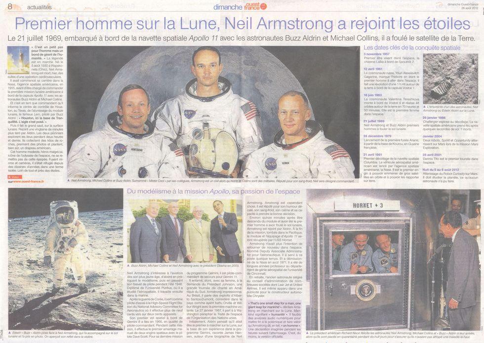 Neil Alden Armstrong - Le premier homme sur la Lune 12082610