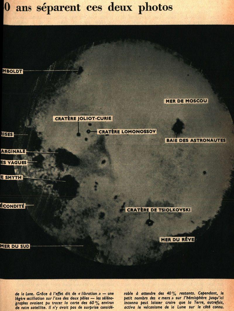 4 octobre 1959 - Lunik III - 1ères photos de la face cachée 59120012
