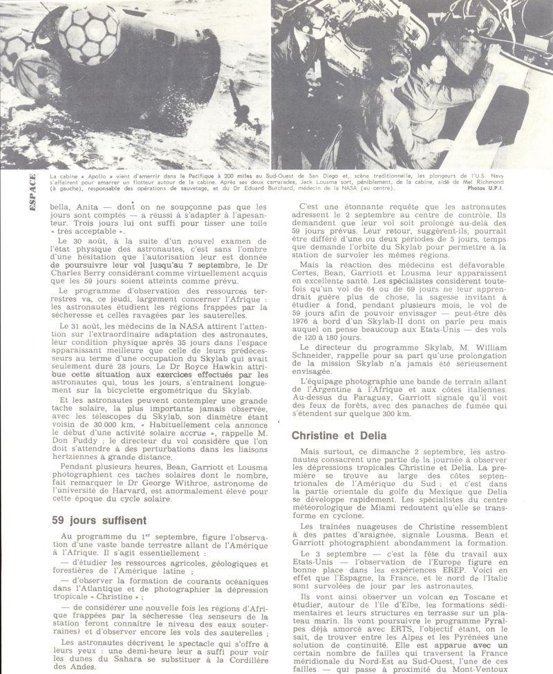 14 mai 1973 - Skylab - Seule station spatiale américaine - Page 2 73092911