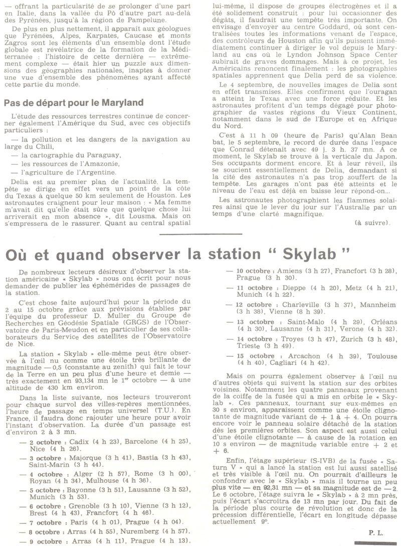 14 mai 1973 - Skylab - Seule station spatiale américaine - Page 2 73092912