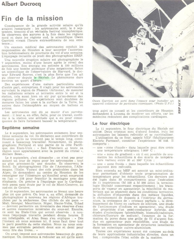 14 mai 1973 - Skylab - Seule station spatiale américaine - Page 2 73100610