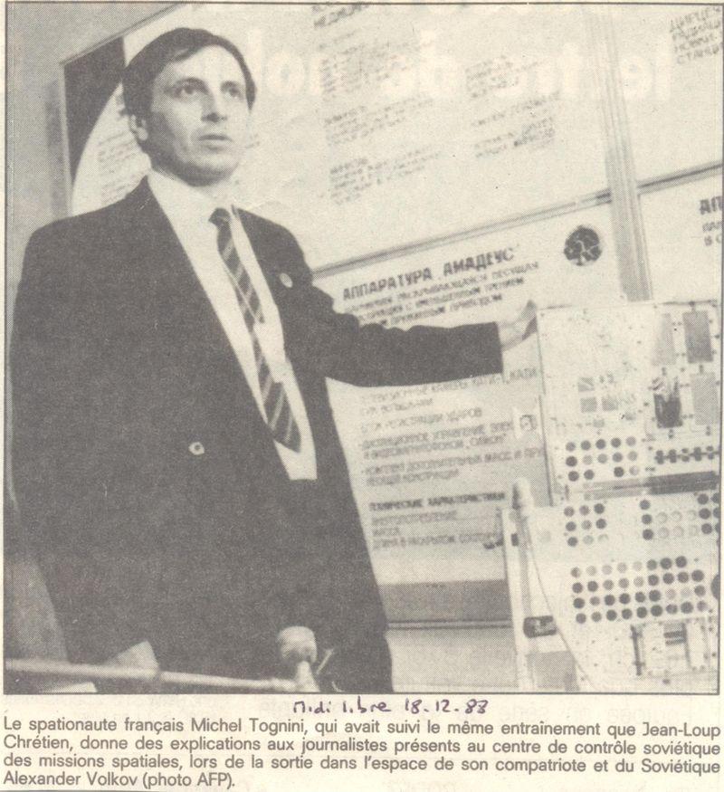 Michel Tognini - 3ème Français dans l'espace 88121810