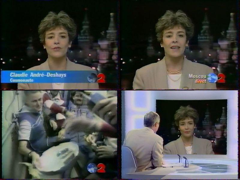 Claudie Haigneré - 1ère Française dans l'espace - Page 2 96090010