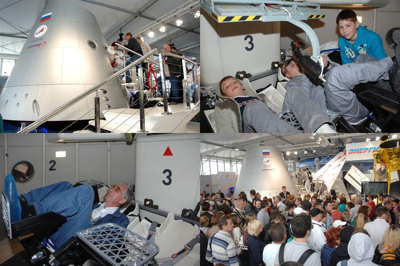 Le futur vaisseau récupérable russe Maks2010