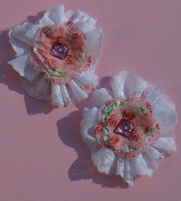 Lace/Fabric Flowers Lace__11