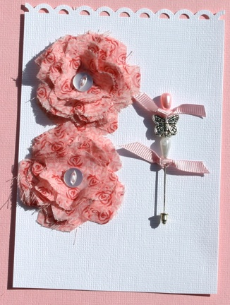 Fabric Flowers with Stick Pins Pictur13