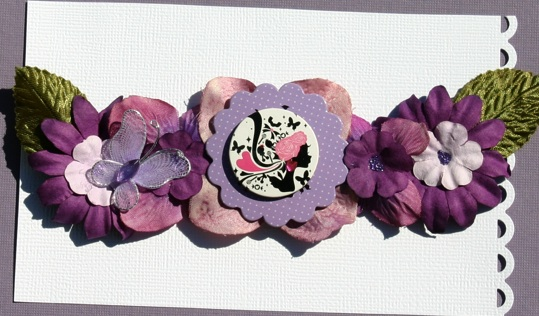 Flower Cluster Purple11
