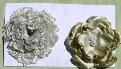 Satin/Lace Flowers Set_gr10