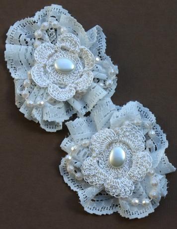 Lace Flowers Vintag10