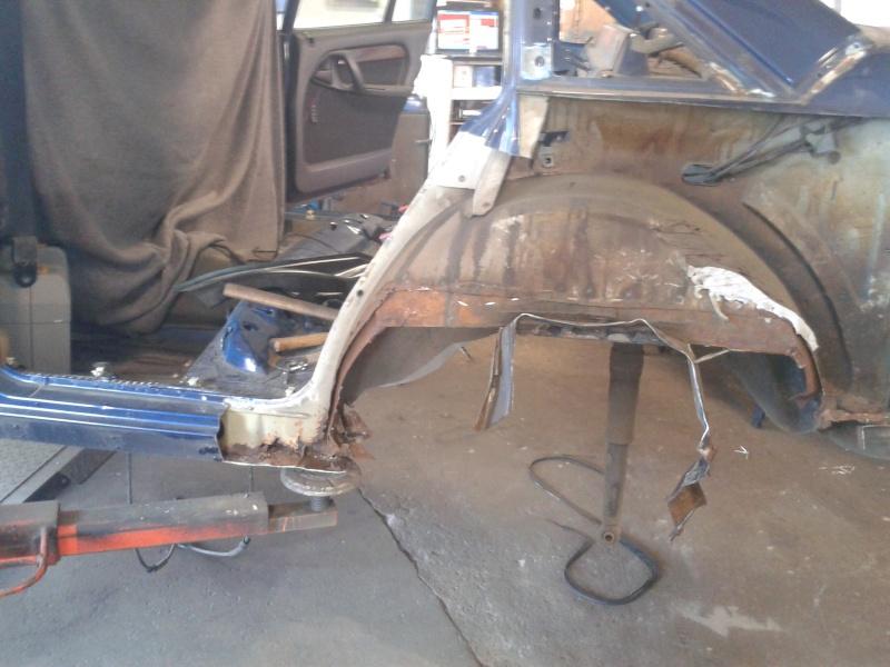 Omega A 3l 24v Turbo, Baustelle wird beendet, Auto geschlachtet - Seite 9 2013-042