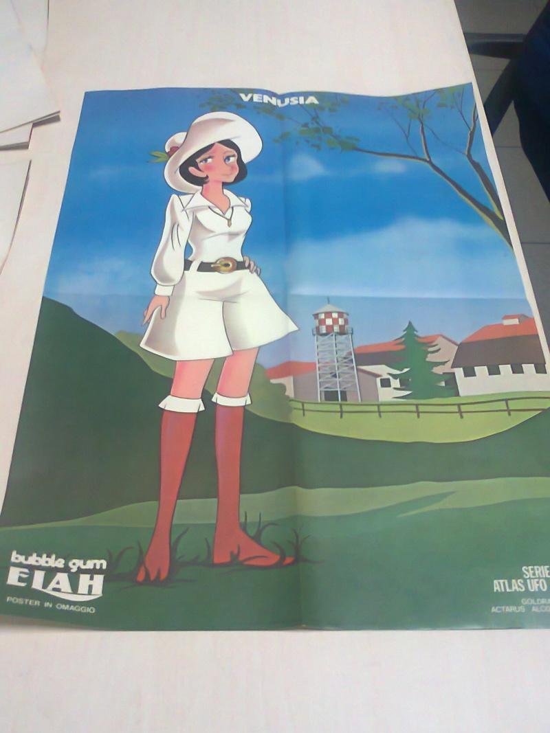 scambio,vendo poster goldrake elah Foto0413