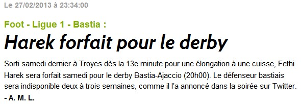 SC Bastia 1-0 AC Ajaccio S51