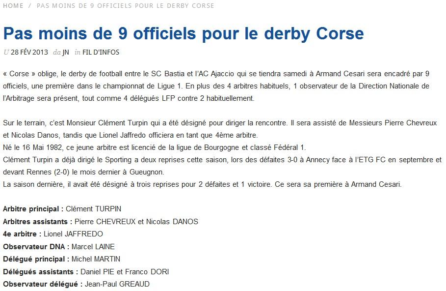 SC Bastia 1-0 AC Ajaccio S53