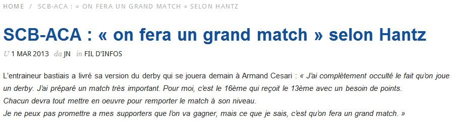 SC Bastia 1-0 AC Ajaccio S56