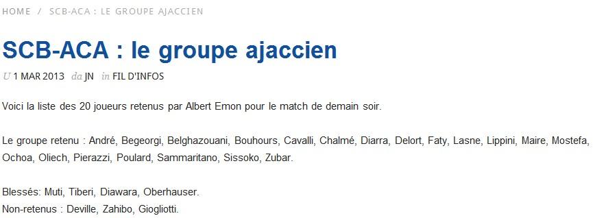 SC Bastia 1-0 AC Ajaccio S58