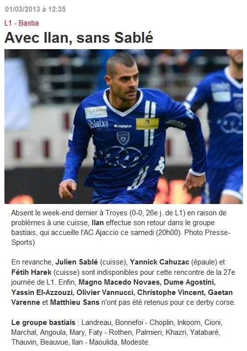 SC Bastia 1-0 AC Ajaccio S59