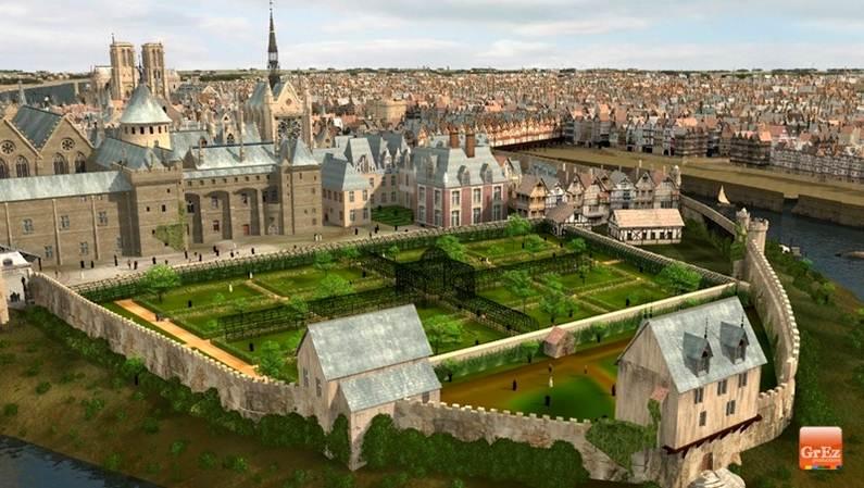 Paris sous l'ancien régime Jardin10