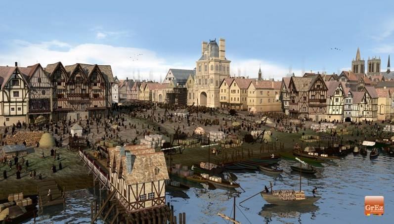 Paris sous l'ancien régime Placed10