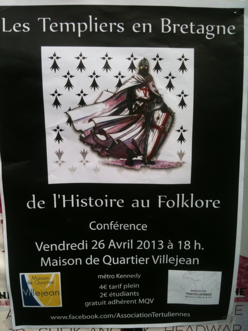 Conférence à Rennes : les templiers en Bretagne Templi10