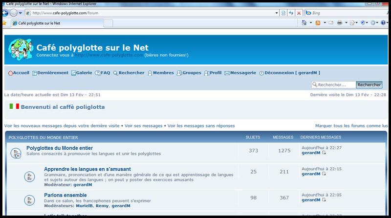 """PRESENTATION : Les clubs, cafés, cercles polyglottes """"in live or on line"""" Sans_t14"""