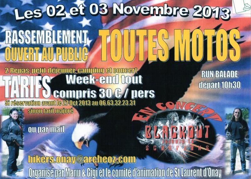 131102 & 03, rassemblement motos à St Laurent d'Onay près de Romans sur Isère (26) Img27310