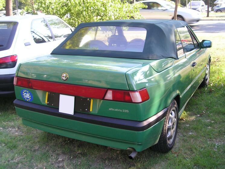 Coup de coeur : Alfa Romeo 33 Cabriolet 33cabr11