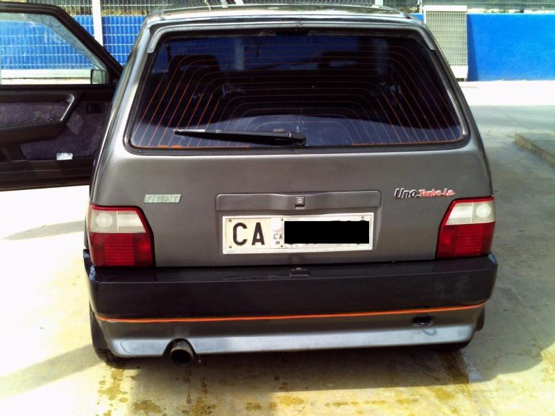 la mia Fiat Uno 1.0 Fire SX 1990 Pict0024