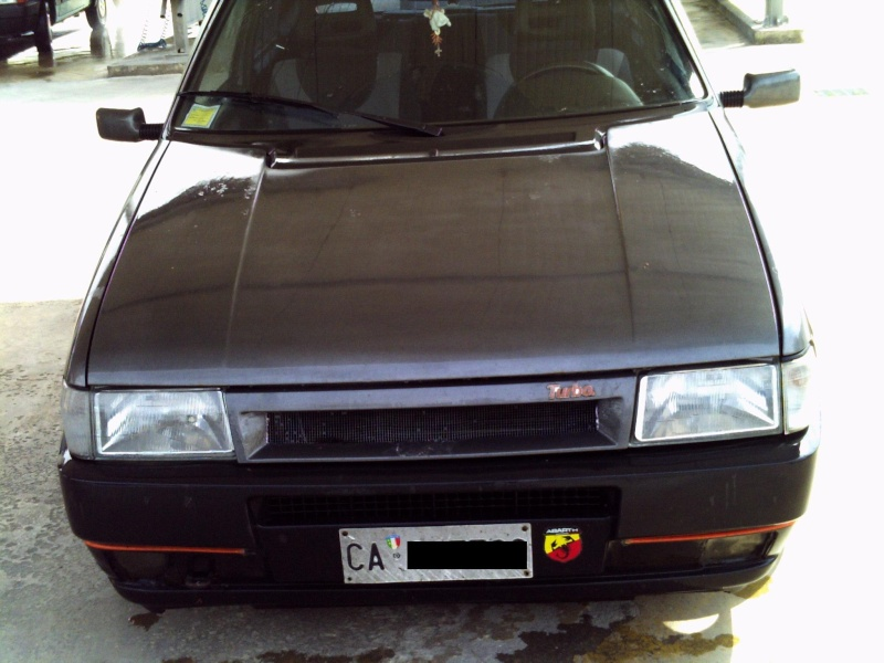 la mia Fiat Uno 1.0 Fire SX 1990 Pict0025