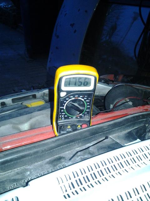 Opel Corsa b Gsi 1.6  x16xe  erhöhter Batterie Spannung  2013-010
