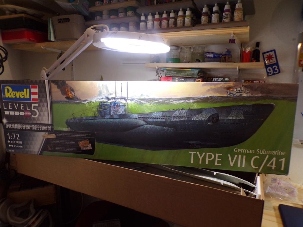 U-boot Type VII C/41 Version platinium revell 1/72 115_3518