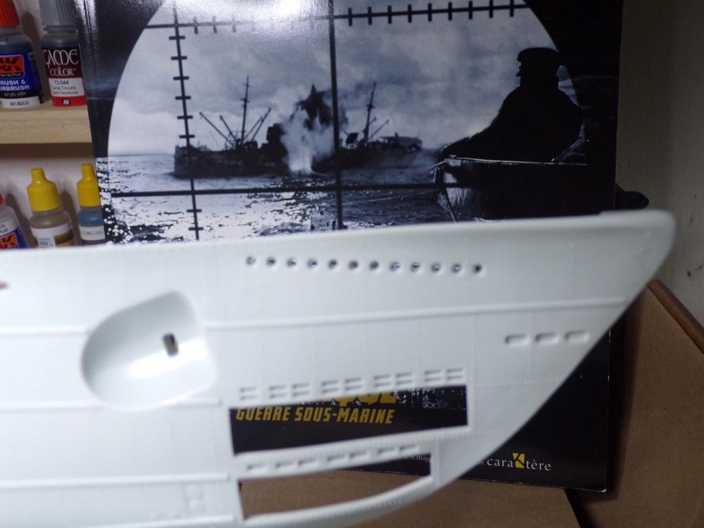 U-boot Type VII C/41 Version platinium revell 1/72 115_3519