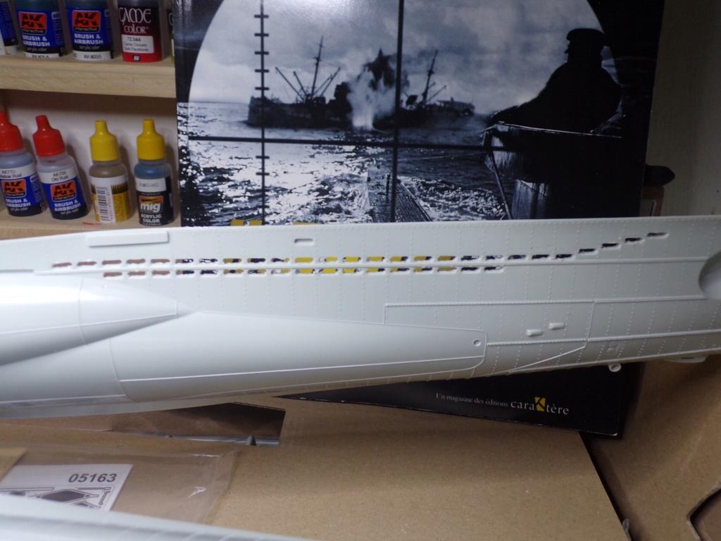 U-boot Type VII C/41 Version platinium revell 1/72 115_3520