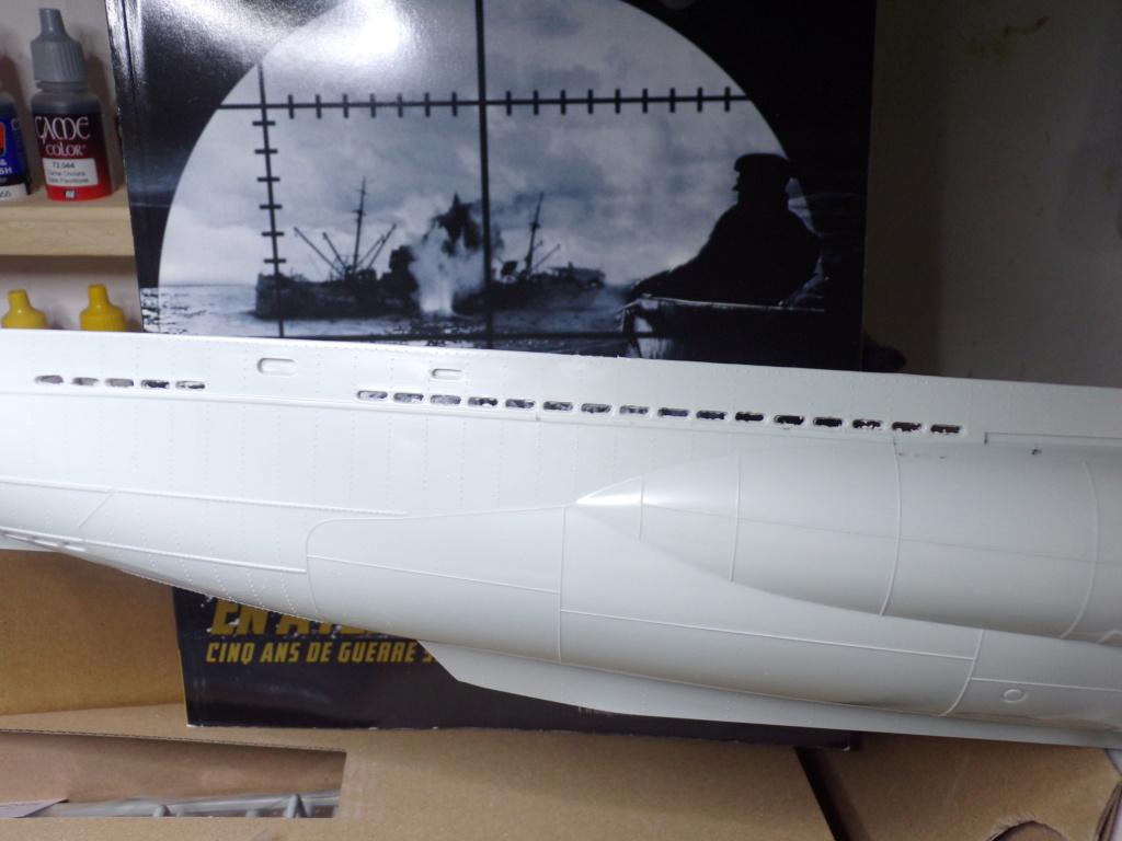 U-boot Type VII C/41 Version platinium revell 1/72 115_3521