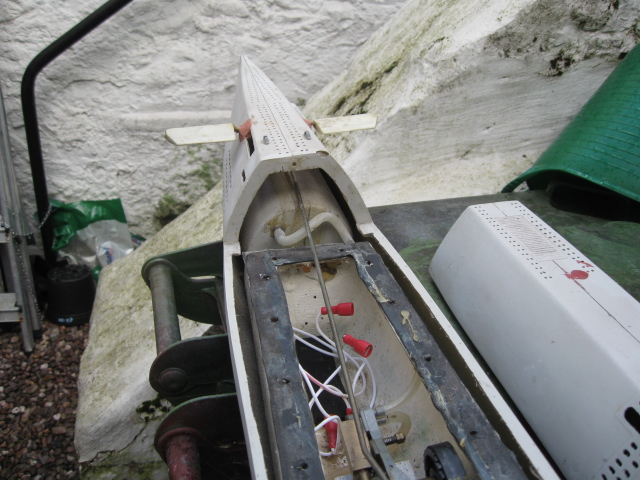 Darnell Type XX1 - Graham's Dad's boat for refurbishment Img_3417