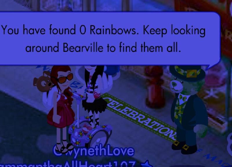 Lucky Clover Teddy's Rainbow Quest Bab10