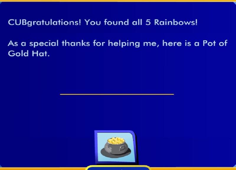 Lucky Clover Teddy's Rainbow Quest Bab11