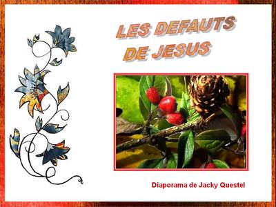 """Un diaporama au titre surprenant """"les défaut de Jésus"""" Sans_t10"""