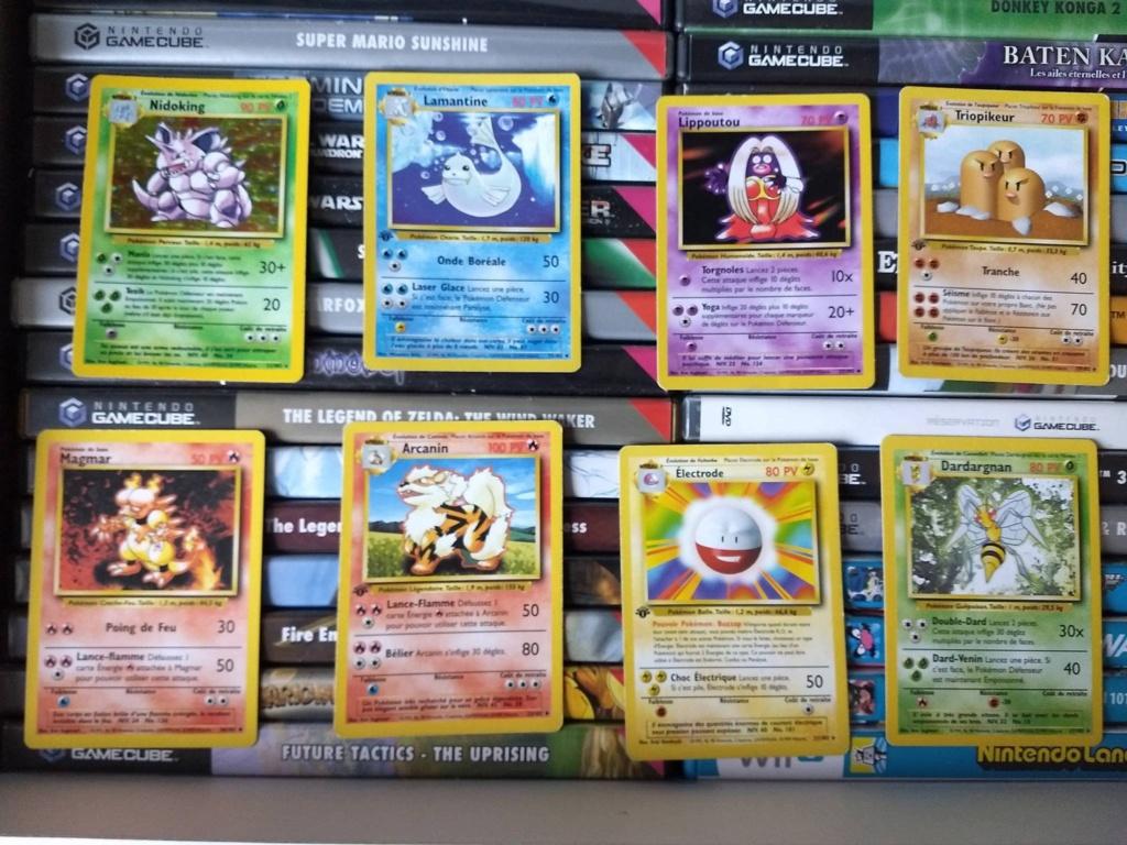 [EST] Cartes Pokemon Première Edition (pas de mp sous-marin svp) 49024011