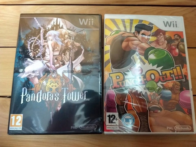 [VDS] Pandora Towers + Punch Out wii blister Fr 51437910