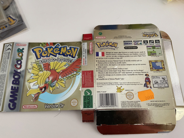 [EST] Pokémon version Or ( box only )  9b593f10