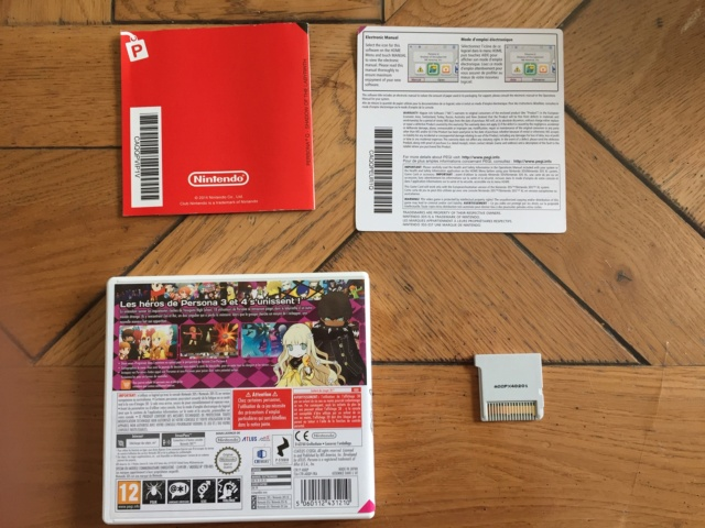[VDS] Persona Q 3DS FR, Mario All star et Pandor'as Tower Neuf wii Img_0210