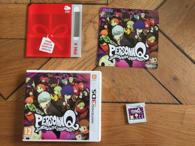 [VDS] Persona Q 3DS FR, Mario All star et Pandor'as Tower Neuf wii Img_0211