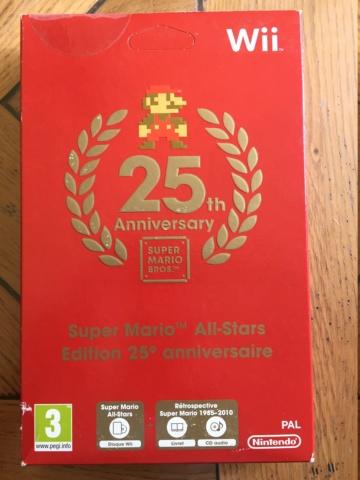 [VDS] Super Mario All Stars 25th Wii neuf scellé fdp offert Img_0810