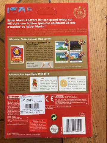 [VDS] Super Mario All Stars 25th Wii neuf scellé fdp offert Img_0811