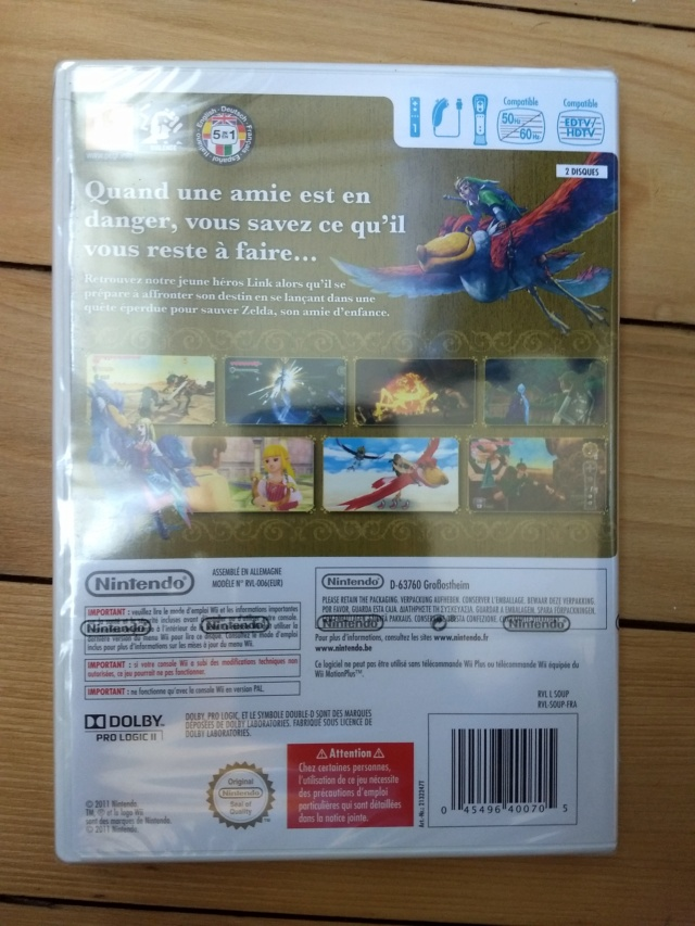 [VDS] Zelda skyward sword neuf et lot Metroid Tri + Metal Slug Wii Img_2073