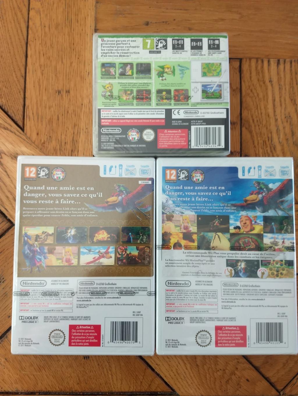 [Vendu] Lot Blister Zelda Skyward  Wii + Spirit Tracks DS FR Img_2099
