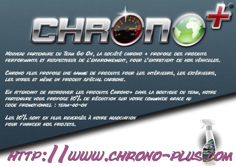 TGO Propriétaire des Produits de nettoyage CHRONO+  Chrono10