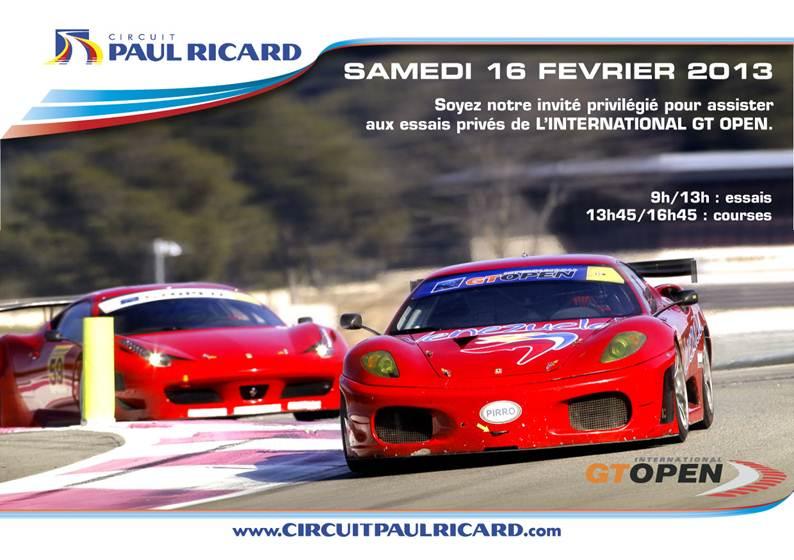 Essais Open GT au paul Ricard Gtopen10
